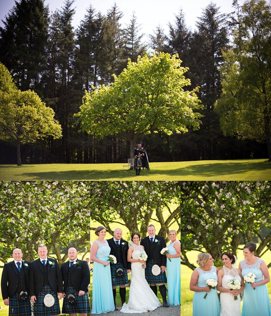 027_Glencorse House Wedding Photos