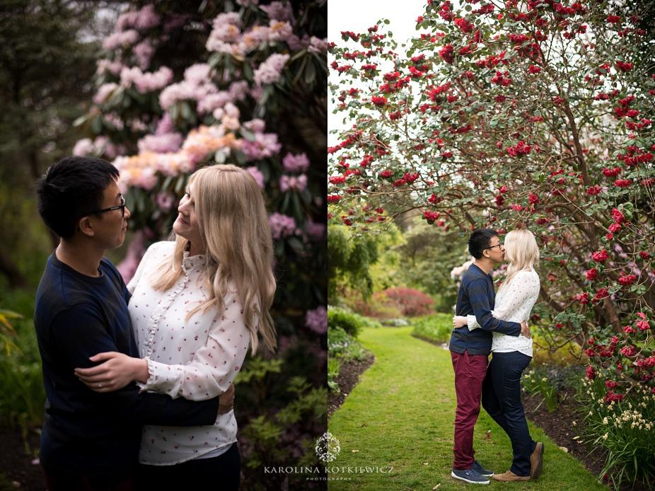 Botanic Garden Edinburgh engagement session