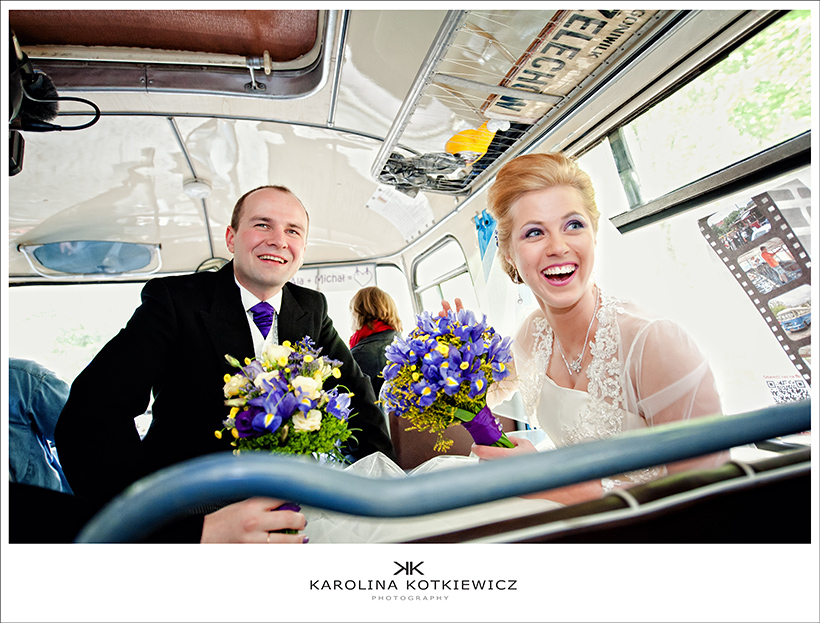 Ala and Michal – wedding in Warsaw, Poland