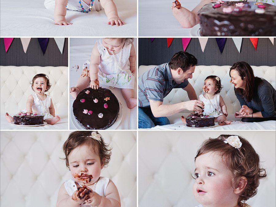 Smash the cake: Lily's 1st birthday