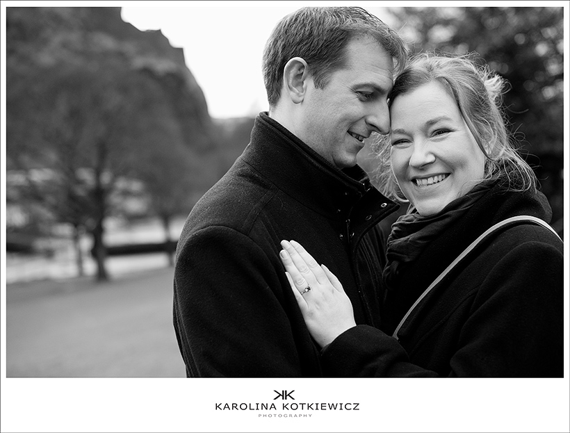 Save the date: Gillian and William, Edinburgh