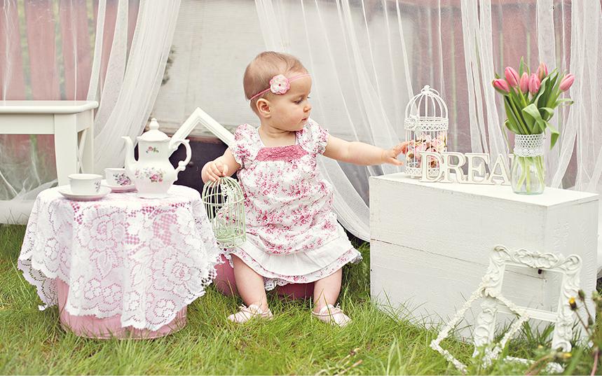 Tea Party- Ruby's 1st birthday