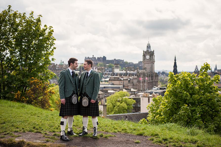 Wedding sneak peak: JB + Calder, Lothian Chambers