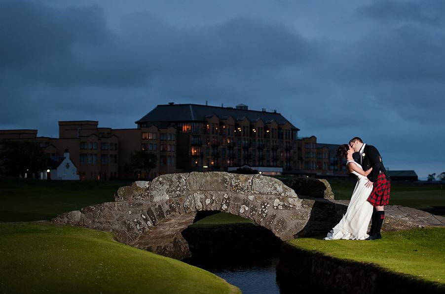 Wedding sneak peak: Kimberley + Robert, St.Andrews