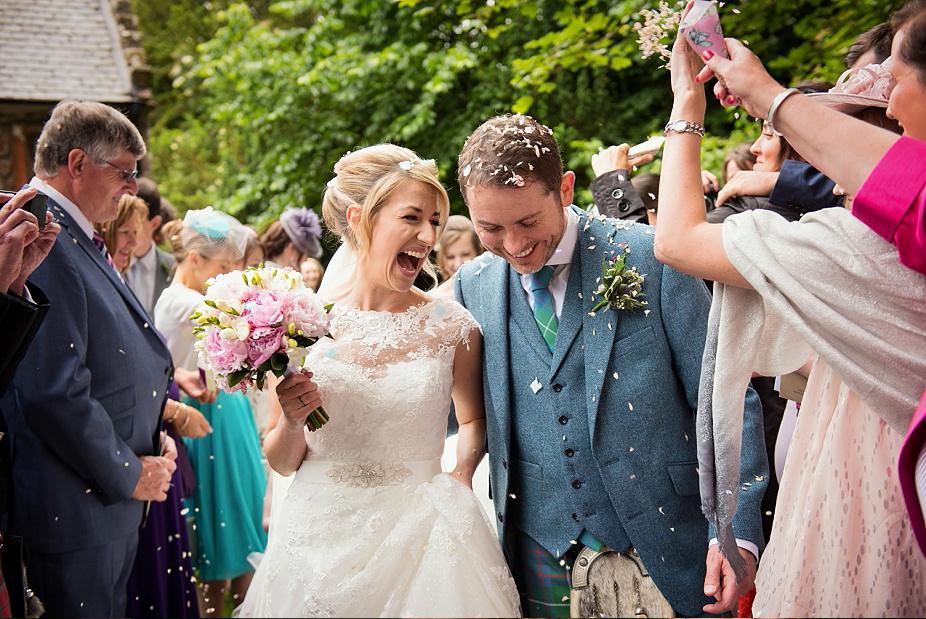 Glencorse House Wedding: Abi + James