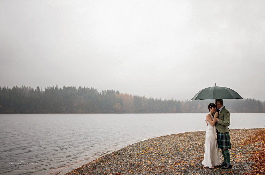 Altskeith House Wedding: Nicola + Andrew, Loch Ard