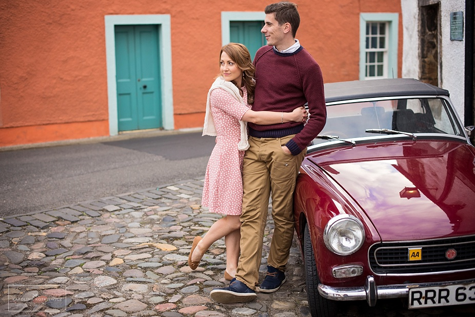Save The Date: Elaine + Ross, Culross