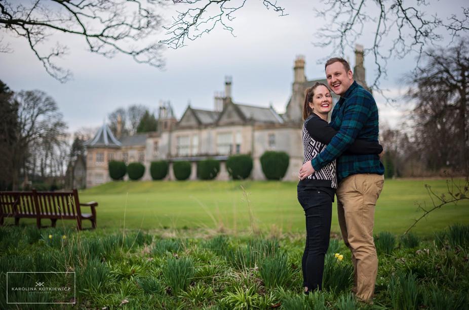 Engagement session Lauriston Castle