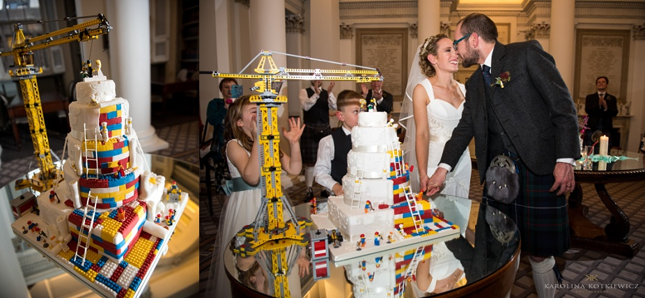 Autumn wedding at Signet Library