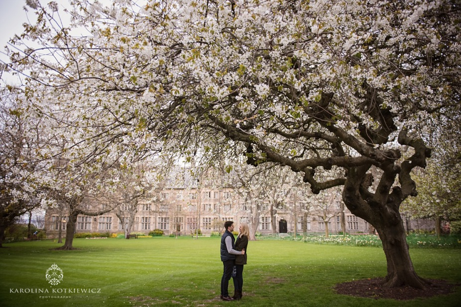 St. Andrews Save The Date | Eilidh + Ben
