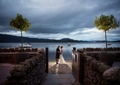 lodge on loch lomond wedding