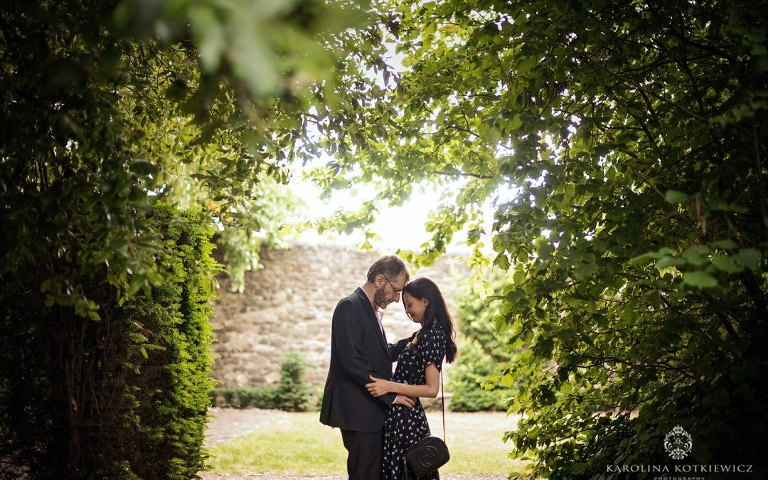 Dunbar Garden – Save the date: Harriet & Aaron