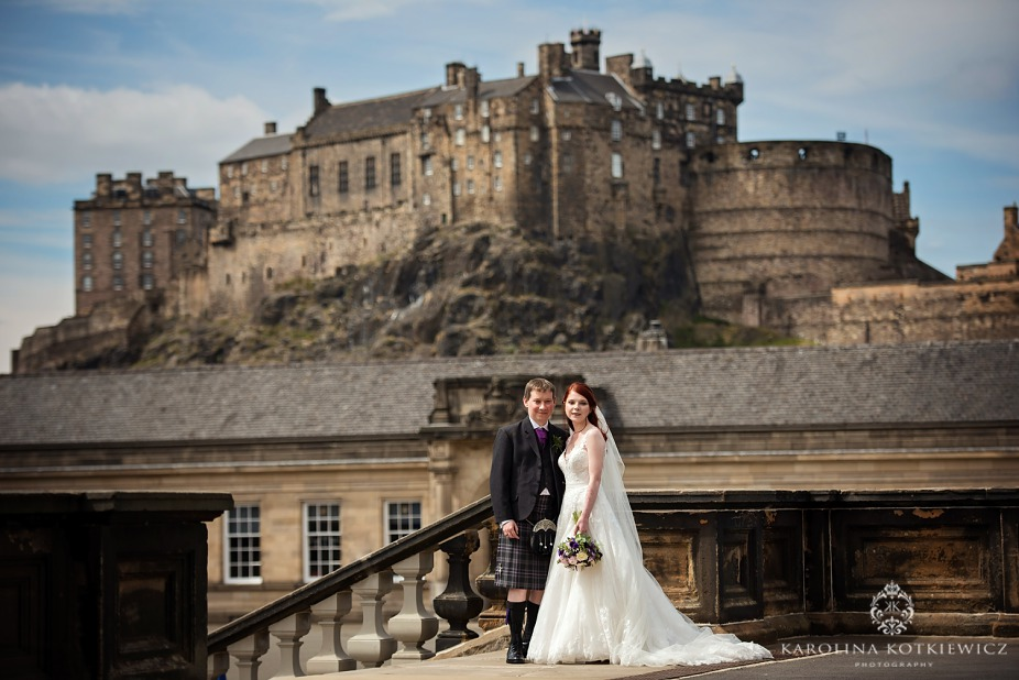 Surgeon's hall wedding – Katie & Ross