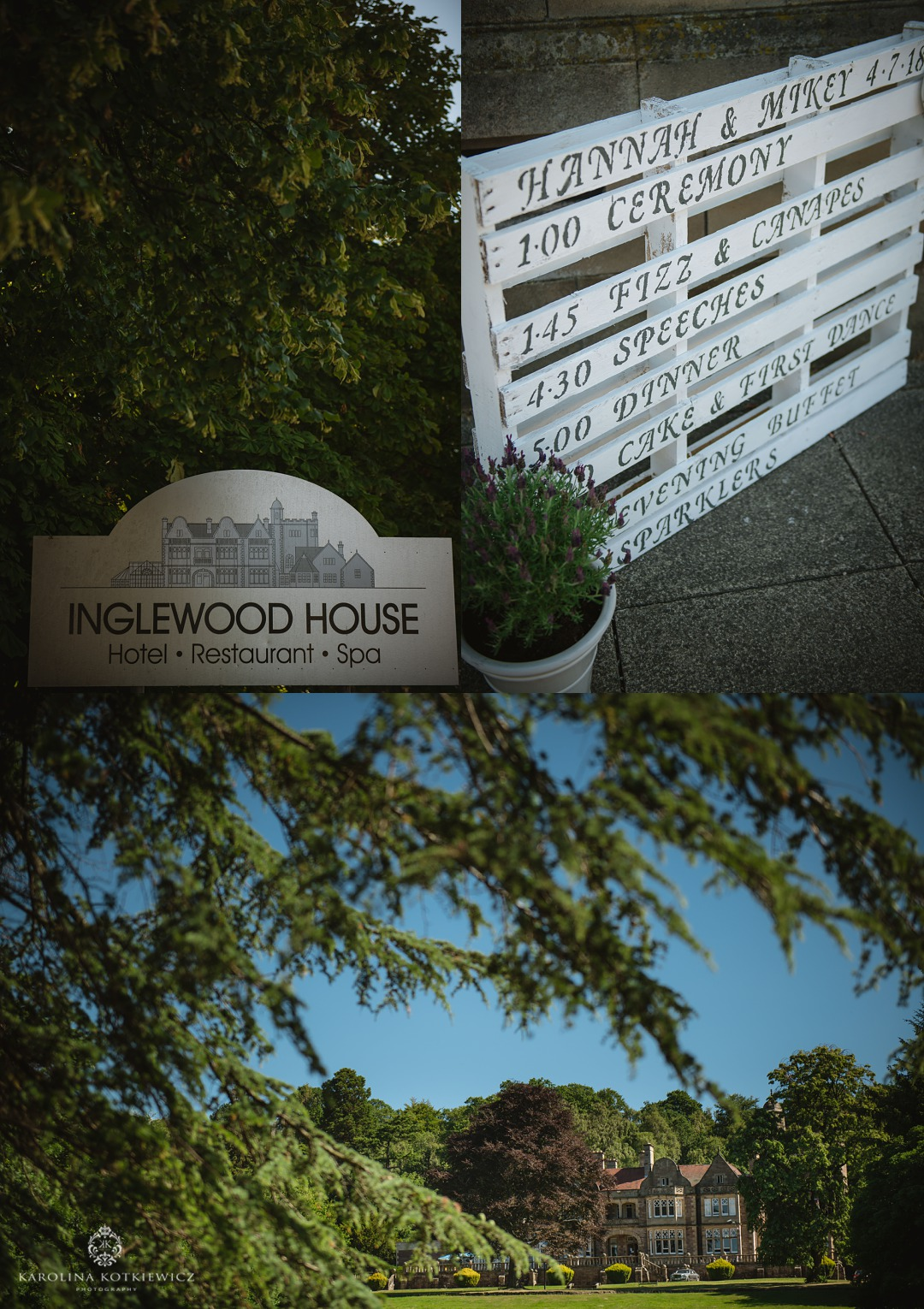inglewood house wedding
