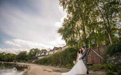 Lodges on Loch Lomond wedding: Sally & William
