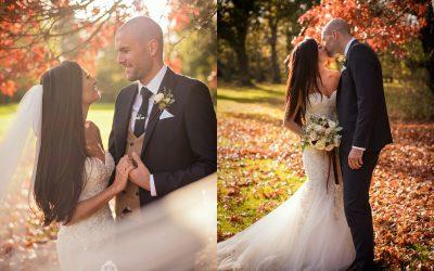 Carberry Tower Autumn Wedding: Stu & Lauren
