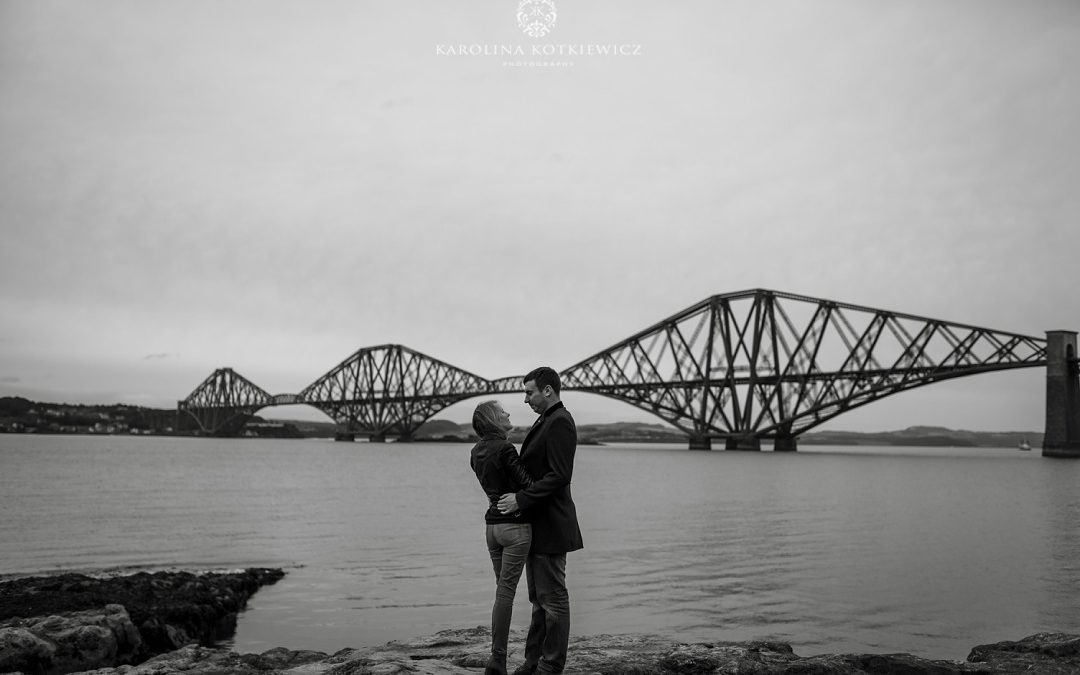 South queensferry e-session ¦ Chloe & Bruce