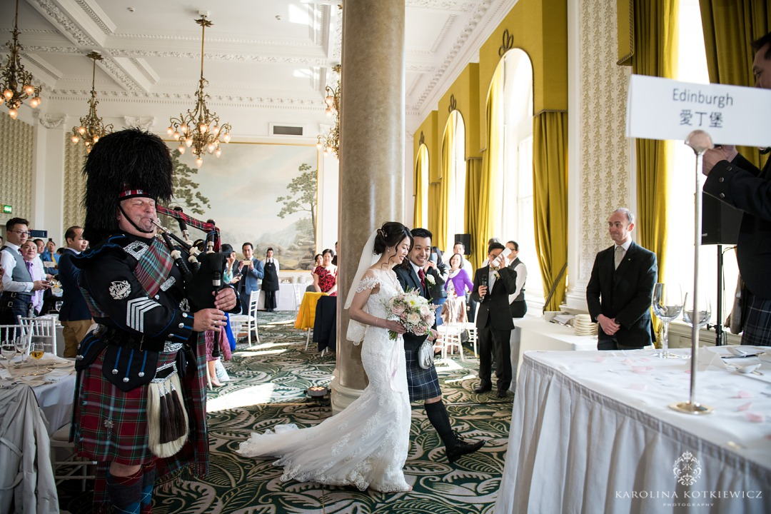 Balmoral Edinburgh Wedding