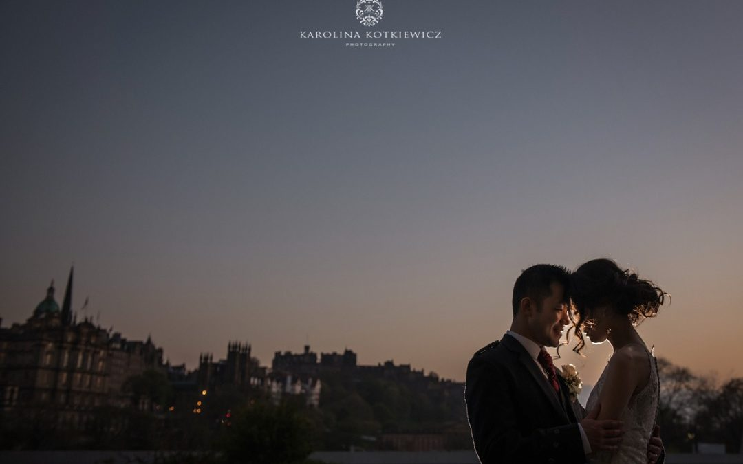 Balmoral Edinburgh wedding| Luke & Penny