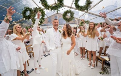 Fete en blanc wedding | Esther & Richard