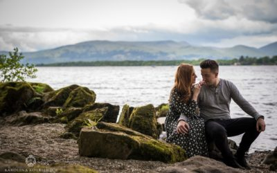 Save The Date | Barry & Louise at Balmaha
