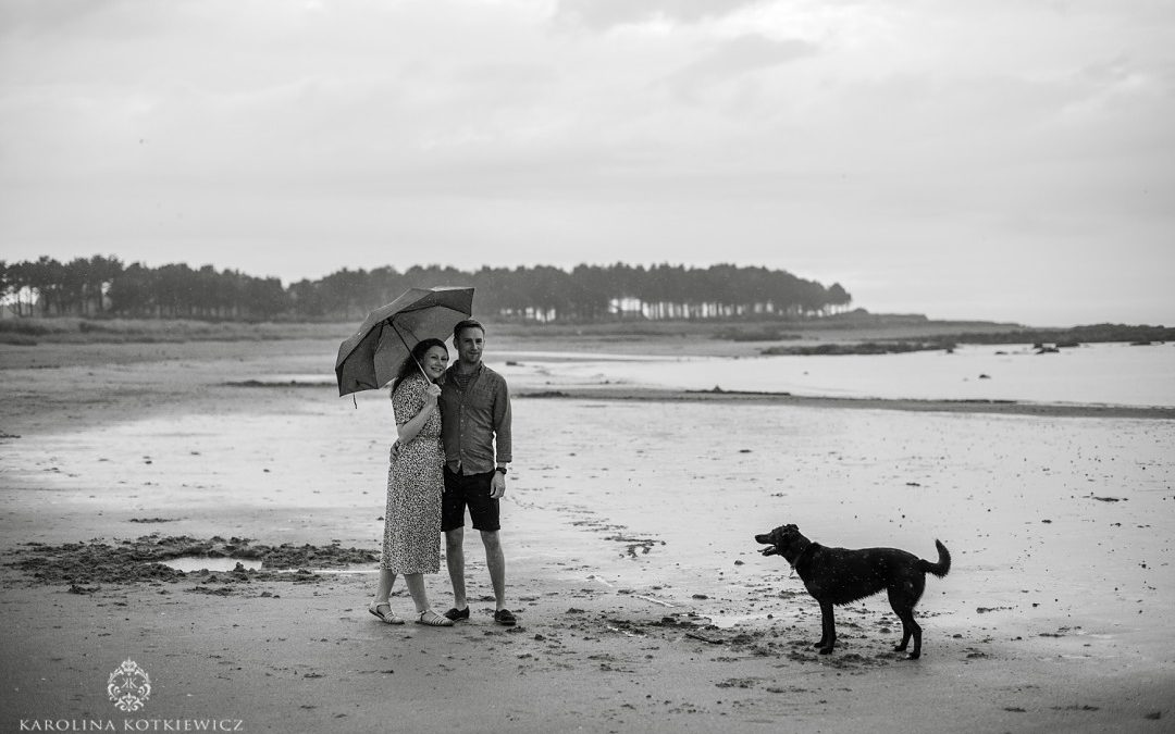 Save The Date | Louise & Stephen, Yellowcraigs beach