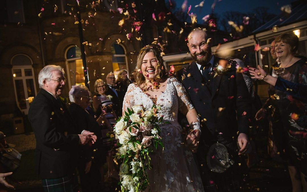 Lucy & Ben | Cornhill Castle winter wedding