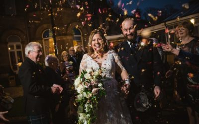 Lucy & Ben | Cornhill Castle winter wedding