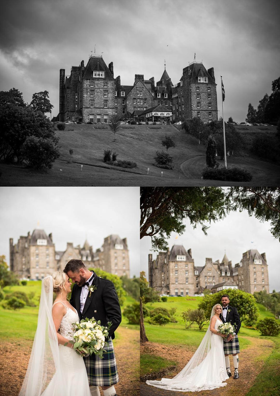 Atholl Castle Wedding